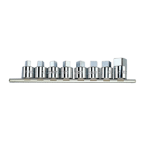SQUARE HEAD SOCKET SET 8 PC. 1/2
