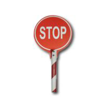 Sign Stop with handle - 911