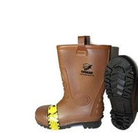 Jual Sepatu Safety Boot Cougar Gumboot Brown 1916