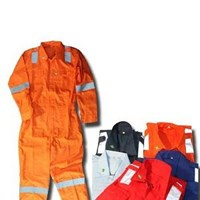 Pakaian Safety Werpak Safe T Drill Reflective Coverall