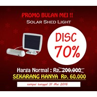 Jual Solar Shed Light