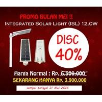 Lampu Tenaga Surya Ecowatt 12.0 Watt