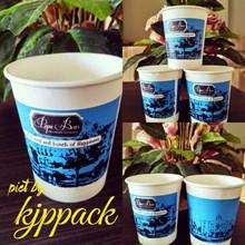Hot Cup Paper 8 oz Atau Gelas Kertas Minuman Panas 8 oz ( MIN ORDER PRINTING HANYA 1000PCS )