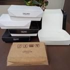 Lunch Box Paper Atau Kotak Makan Kertas Foodgrade Size L 1