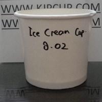 Jual Paper cup Gelas Kertas Es Krim 8Oz Atau Ice Cream Cup 8Oz Untuk Perlengkapan Kafe 2