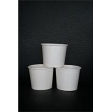 Gelas Kertas Es Krim 8Oz Atau Ice Cream Cup 8Oz Untuk Perlengkapan Kafe