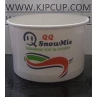 Jual Paper Bowl Cup 12Oz (MIN ORDER PRINTING HANYA 1000PCS) 2
