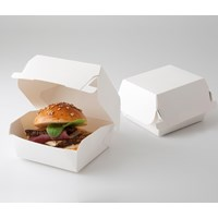 Burger Box atau kemasan burger