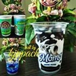 Printing Gelas Plastik Atau Cup Plastik Printing Size 16Oz