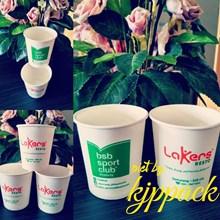 Hot Cup Paper 6.5 Oz - Gelas Kertas Untuk Minuman Kopi Ukuran 6.5 Oz