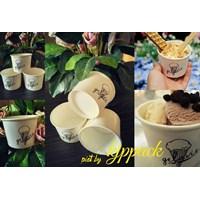 Cup Ice Cream 4Oz Atau Gelas Kertas Es Krim 4Oz