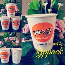 Gelas Kertas Kopi 12Oz Atau Paper Cup Hot 12Oz  ( MIN ORDER PRINTING HANYA 1000PCS )