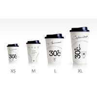 Jual Jasa Sablon paper cup atau sablon cetak logo gelas kertas 2