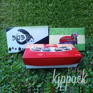 Cetak Lunch Box paper MURAH BERKUALITAS FOOD GRADE UNTUK PERALATAN RESTORAN dan KAFE