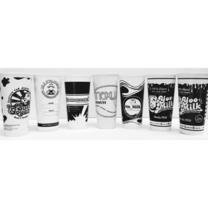 Dari Jasa Sablon paper cup murah dan cepat ( MIN ORDER PRINTING HANYA 1000PCS ) 3