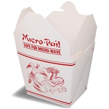 Chinese Box atau Food Pail Box atau Rice Box Uk Large - Cetak Logo Kemasan