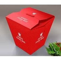 Jual Food Pail Ukuran Large atau chinese Box harga murah (MIN ORDER PRINTING HANYA 1000PCS) 2