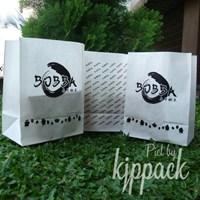 Jual paper bag makanan tahan minyak atau kantong kertas foodgrade 2
