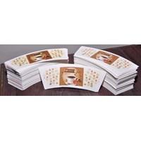 Jual Cetak Printing Mangkuk kertas atau printing bowl paper 12oz  2