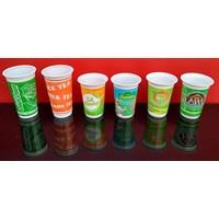 Jual Gelas Plastik Printing atau cetak gelas plastik murah berkualitas 2