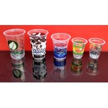 Gelas Plastik Printing atau cetak gelas plastik murah berkualitas