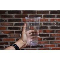 Dari Cup Plastik 22oz Bening gelas plastik 22oz bening tebal ( MIN ORDER PRINTING HANYA 1000PCS ) 1