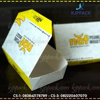Beli box makanan tahan air atau kemasan dengan kertas food grade berlaminasi ( MIN ORDER PRINTING HANYA 1000PCS ) 4