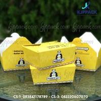 Jual box makanan tahan air atau kemasan dengan kertas food grade berlaminasi 2