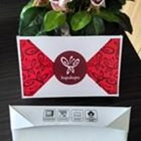 Distributor Box makanan trapesium bahan kertas food grade berlaminasi size M 3