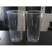 Gelas Plastik Bening 22 oz  ( MIN ORDER PRINTING HANYA 1000PCS )