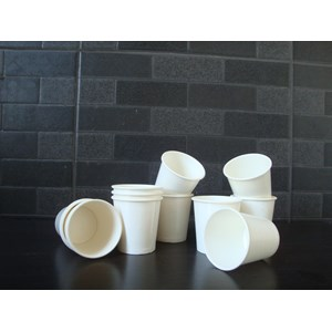 Paper Cup Hot 8oz gelas kertas miniman panas ( MIN ORDER PRINTING HANYA 1000PCS )