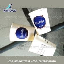 Hot Cup Paper Polos size 10 Oz 270 ml atau Gelas Kertas Polos untuk Kopi ( MIN ORDER PRINTING HANYA 1000PCS )