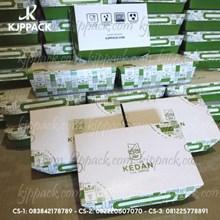 Lunch Box Paper Custom Design - Kotak Makan Kertas Cetak Printing Ukuran L  ( MIN ORDER PRINTING HANYA 1000PCS )