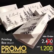 Promo Cetak Lunch Box Makanan Ukuran M