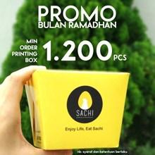 Food Pail Large Printing Full Colour (MIN ORDER PRINTING HANYA 1000PCS)