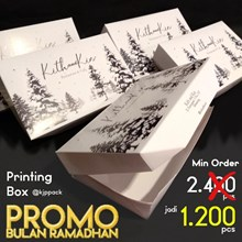 Cetak Lunch Box size M dengan minimal order 1200 pcs