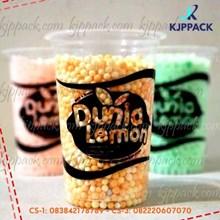 Plastic cup 16 oz cetak sablon 1 warna