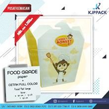 Food Pail size M cetak Printing