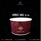 Soup Cup 12 oz Cetak Desain - Double Wall Bowl Paper Desain Full Color - Murah dan Berkualitas 1