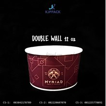 Soup Cup 12 oz Double Wall