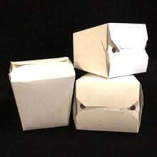 Kotak makan trapesium L