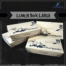 PACKING BOX FOOD GRADE - PRINTING LUNCH BOX LARGE