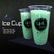 Kemasan Cup Plastic TEBAL 8GR ATAU gelas plastik tebal 8gram murah