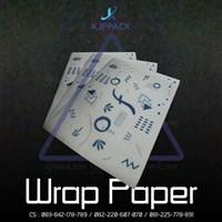 Jual Wrap Paper cetak printing  ( MIN ORDER PRINTING HANYA 1000PCS )