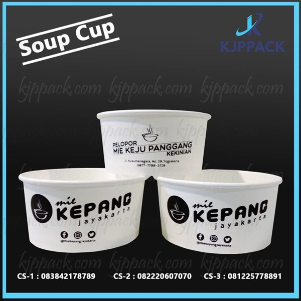 Paper Bowl 24oz / Mangkok Kertas 24oz / Mangkok Soup / Mangkuk Kertas