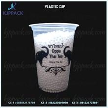 Sablon Premium Plastik cup 16 oz