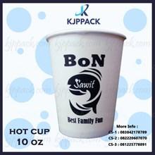 Paper Cup minuman panas cetak sablon berbagai ukuran - pengiriman ke seluruh indonesia