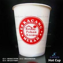 Paper Cup Hot cup 10 oz ( MIN ORDER PRINTING HANYA 1000PCS )