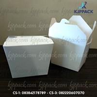 Rice Box atau Food Pail 10 oz ( MIN ORDER PRINTING HANYA 1000PCS )