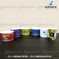 Print Soup Cup Paper harga murah min order 1000pcs Jakarta dan sekitarnya